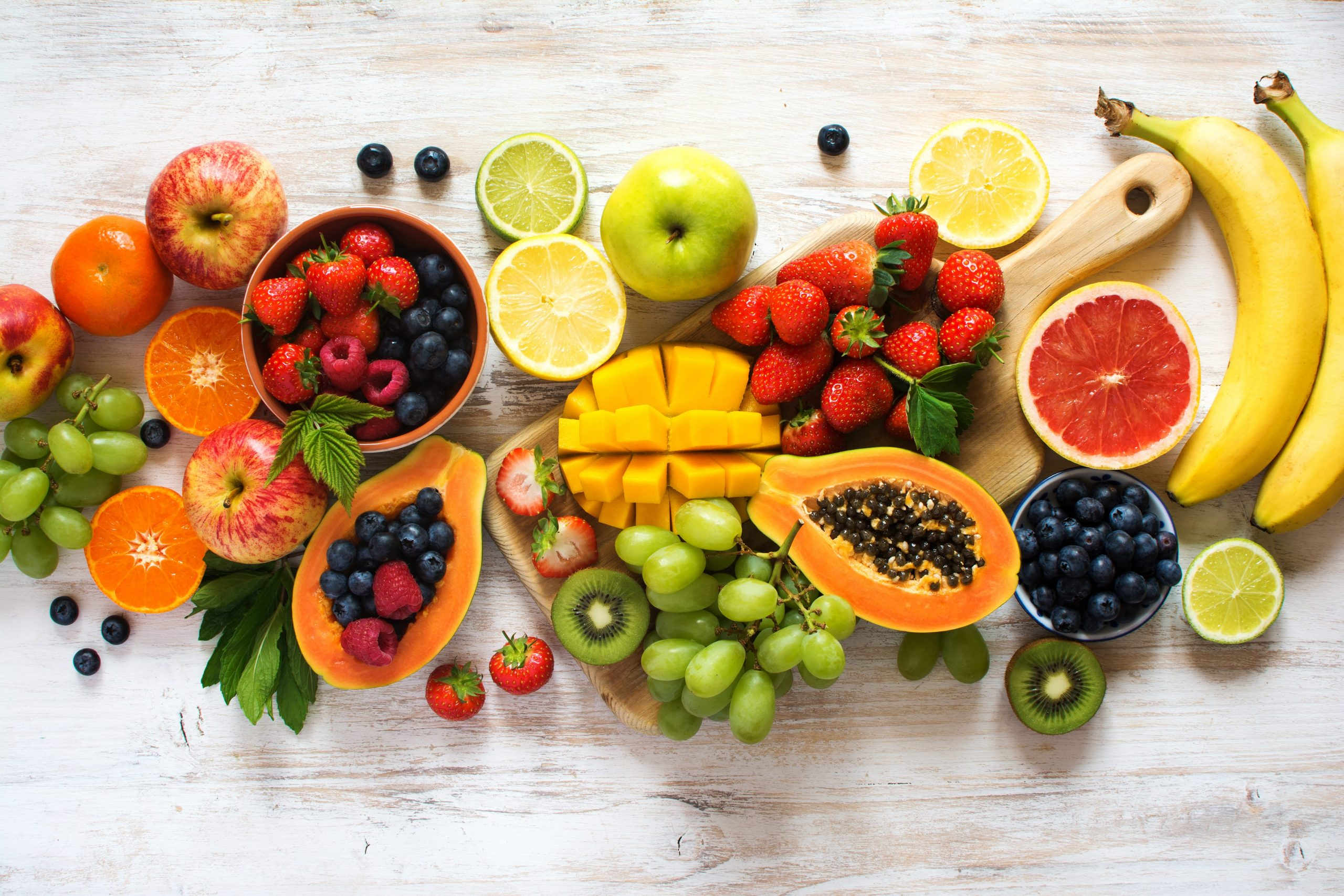 50 Types of Fruit: Nutritions and Health Benefits