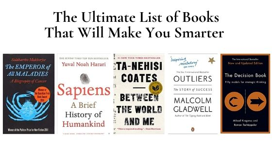 List of Books That Will Make You Smarter - fintechgie